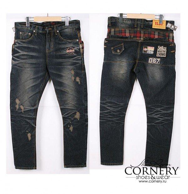 как сшить жилетку из старых джинс.